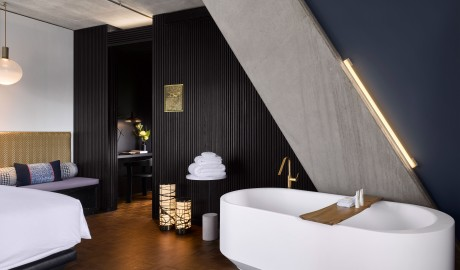 Nobu Hotel Shoreditch Bathtub in London