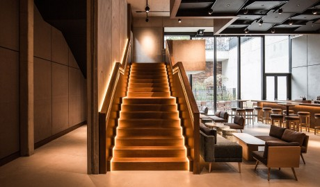 Nobu Hotel Shoreditch Staircase in London