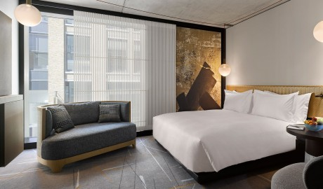 Nobu Hotel Shoreditch Bed in London