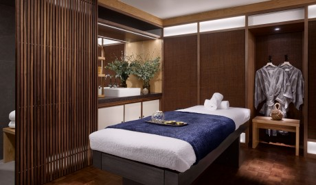 Nobu Hotel Shoreditch Massage Table in London