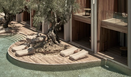 Olea all suite Villas Terrace Pool in Zakynthos