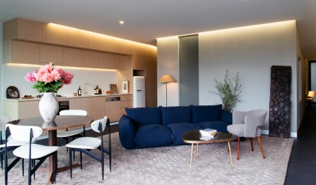 Ovolo Nishi Living Room Area in Canberra