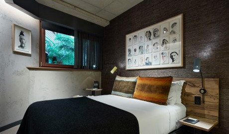 Ovolo Nishi Courtyard Bedroom in Canberra
