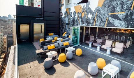 Ovolo Southside Rooftop Bar in Hong Kong