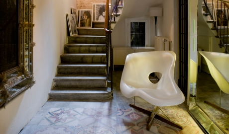 Palazzina G Corrdior Chair Staircase M 08 R