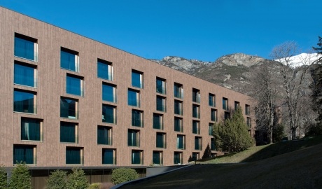 Parc Hotel Billia Architecture Facade Mountain View M 13 R