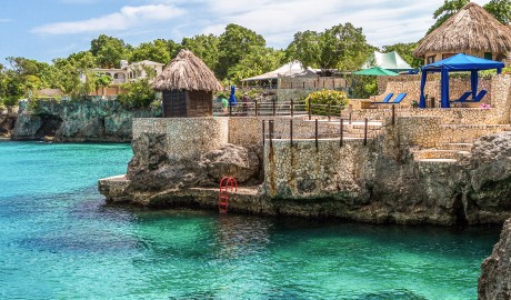 Rockhouse Hotel Coast Scenery in Negril