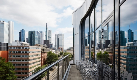 Roomers View in Frankfurt