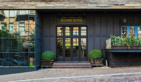 Rooms Hotel Architectre Entrance Door M 09 R 1