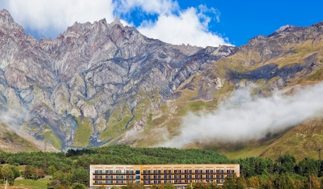 Rooms Hotel Kazbegi Mountains in Stepantsminda
