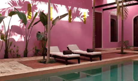 Rosas xocolate merida mexico design hotels for Design hotel yucatan