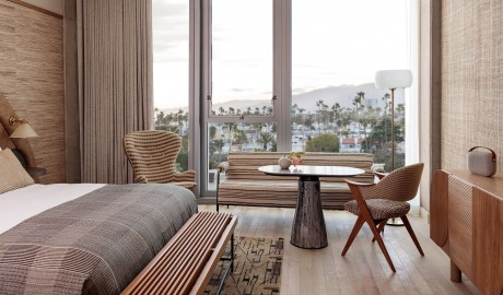 Santa Monica Proper Hotel Guestroom City View in Los Angeles