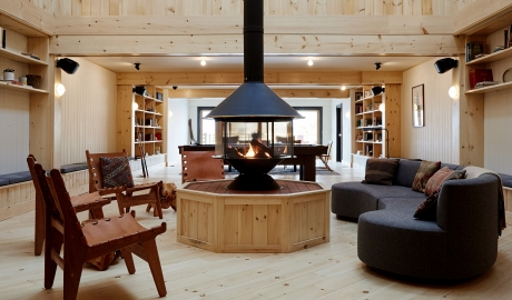 Scribners Catskill Lodge Design in Hunter Mountains