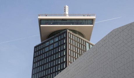Sir Adam Hotel Tower in Amsterdam