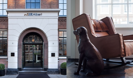 Sir Albert Hotel Dog in Amsterdam