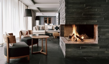The Cambrian Fireplace in Adelboden