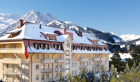 The Cambrian Hotel in Adelboden