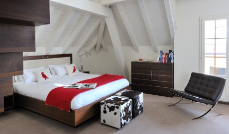 The Cambrian Bedroom Interior in Adelboden
