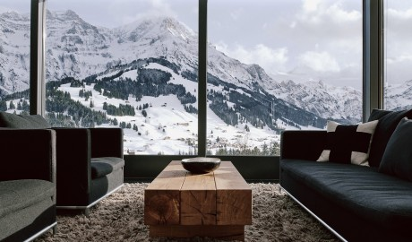 The Cambrian Lounge in Adelboden