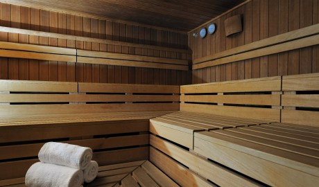 The Cambrian Sauna in Adelboden