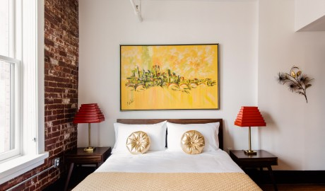 The Dwell Hotel Guestroom in Chattanooga