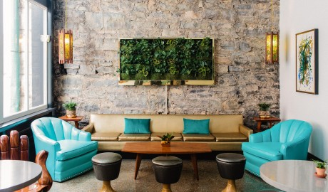 The Dwell Hotel Lobby in Chattanooga
