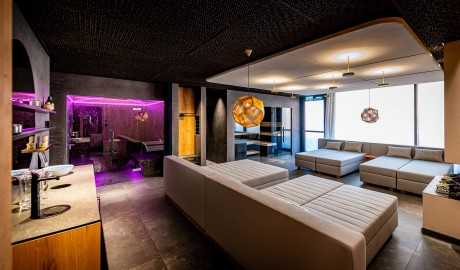 The Hide Hotel Flims, Spa in Flims