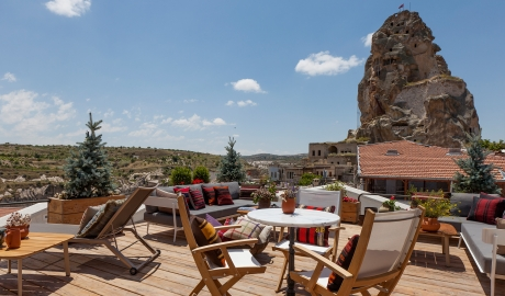 The House Hotel Cappadocia Rooftop Terrace Landscape View M 05 R