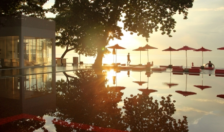 The Library Pool in Chaweng Beach
