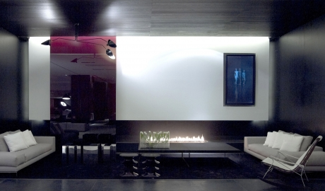 The Met Hotel Fireplace in Thessaloniki