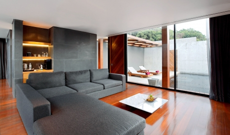 The Naka Phuket Living Room Inteiror Design Terrace View M 11 R