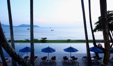 The Naka Phuket Pool Ocean View Sundown M 08 R