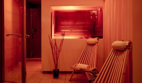The Pure Spa Sauna in Frankfurt