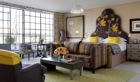 The Soho Hotel Bedroom Interior Design in London