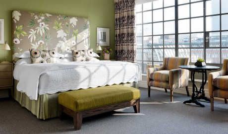 The Soho Hotel Bedroom Design in London
