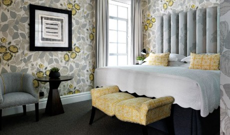 The Soho Hotel Bedroom in London