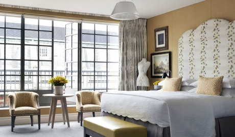The Soho Hotel Bed in London