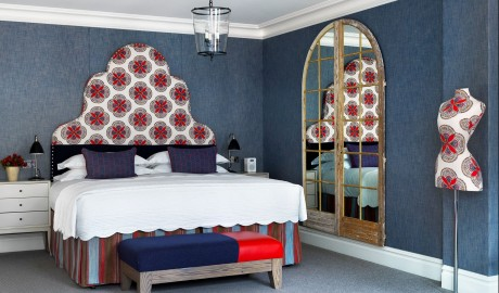 The Soho Hotel Guestroom Interior Design in London