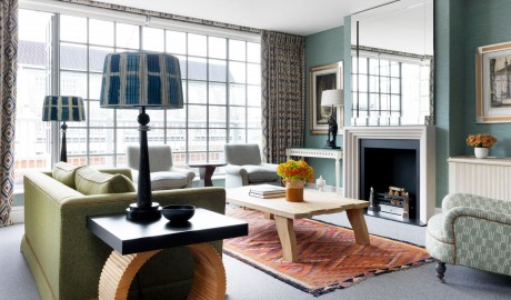 The Soho Hotel Suite Interior Design in London