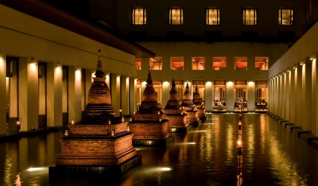The Sukhothai Bangkok Facade in Thailand