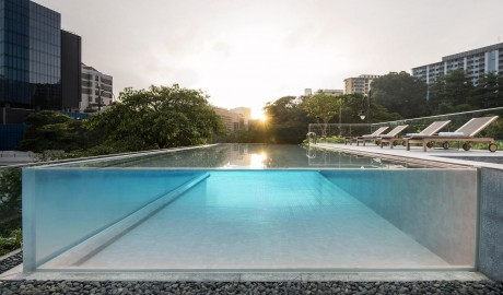 The Warehouse Pool in Singapore