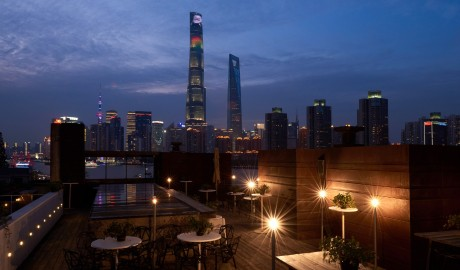The Waterhouse at South Bund Rooftop Terrace in Shanghai