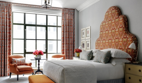The Whitby Hotel Bedroom in New York City