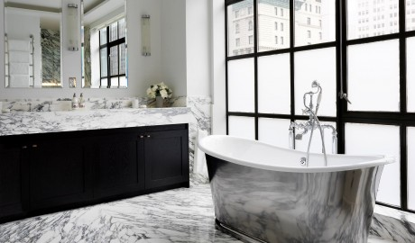 The Whitby Hotel Bathroom Interior Design in New York City