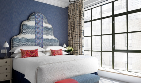 The Whitby Blue Bedroom in New York City
