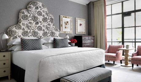 The Whitby Hotel Bedroom Interior Design in New York City