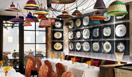 The Whitby Hotel Dining Interior Design in New York City
