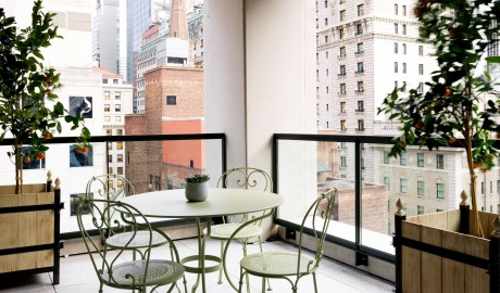 The Whitby Hotel Room Terrace in New York City
