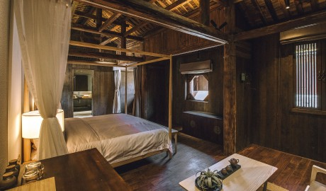 Tsingpu Tulou Retreat Bedroom in Zhangzhou