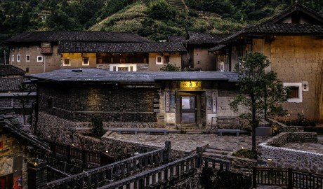 Tsingpu Tulou Retreat Architecture in Zhangzhou